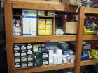 Light Bulb Assortment, Including Metal Halide & LED Bulbs, Ballasts, & More, Contents Of 2 Shelves