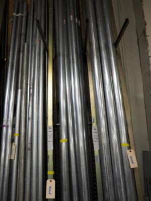 "2"" EMT Conduit Tubing, 10' Lengths, Approximate Qty 9 Pieces"