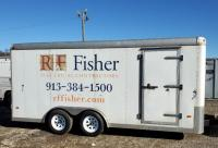 DooLittle Tandem Axle Enclosed Utility Trailer, VIN# Unreadable, 18' X 8'
