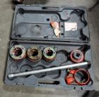 Ridgid Threading Dies, Qty 4. With Wrench and Carrying Case