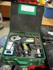 Greenlee Battery Operated Gator, Model EK22GL, Includes Charger, Batteries, & Carrying Case