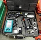 Panduit Battery Powered Hydraulic Compression Tool, Model CT-2931, Includes Charger, Batteries, & Carrying Case