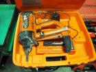 RamSet T3 Battery Operated Concrete Fastener, Includes Battery Charger, Batteries, & Carrying Case