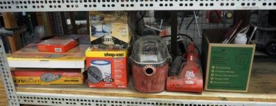Dirt Devil Ultra Handvac, Micro Shopvac, Shopvac Replacement Filters, And Flexible Hose