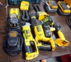 DeWalt Battery Powered, Cordless, Cut Off, Model # DC411, Reciprocating Saw Model # DC385, Battery Chargers, Batteries, Flash Lights and More