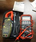Triplett True RMS Clamp Meter Model 9320-A, Includes Leads and Carrying Case And Amprobe Multimeter AM-91 With Leads