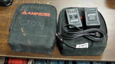 Pasar Amprobe Current Tracer Model # CT100, Includes Transmitter, Tracer, Leads and Carrying Case, Qty. 2