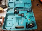 Makita Battery Powered Drill and Flash Light, Includes Carrying Case, Missing Charger