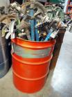 Stubbs, Ideal And Greenlee Conduit/ Pipe Bending Saddles, Assorted Sizes, Contents Of 55 Gal. Drum