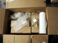 Winona Lighting Solutions Lighting Fixtures,Qty 4, With Cylindrical Glass Globes, New In Package