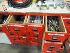 Drill Bit Assortment, Whole Saw Blades, Tap And Die Set And More. Contents Of 15 Drawers