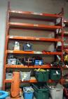 "Heavy Duty Steel Pallet Racking With 5 Adjustable Shelves 12ftx16ftx30"", Contents Not Included. SECOND DAY LOADOUT ONLY"