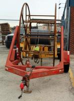 Hydraulic 7' Single Reel Cable Trailer With Reel, Model JTC8000