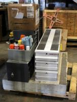 WeatherGuard Utility Van Drawers, Hardware Cabinets, Hardware And More. Contents Of Pallet