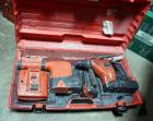 Hilti Battery Powered Rotary Hammer TE 7-A, Dust Remover Module, Battery Charger And Carrying Case