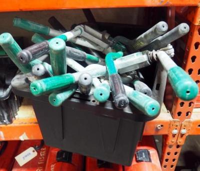 Greenlee Metal Stud Punches Model 710, Qty. 12. Contents Of Tote