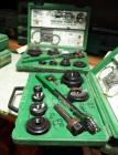 "Greenlee Slug Butster Knockout Punch Set With Ratching Clamps And Wrench Model #7238SB, 1/2"" Threw 2"" Conduit. Qty. 2"
