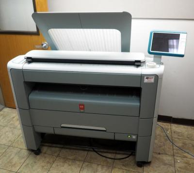 "Oce PlotWave 340 Large Paper Copier, 43.5"" x 60"" x 32"""