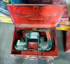 Milwaukee Portable Electric Band Saw, Qty 3, Includes Metal Case
