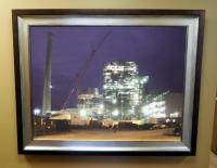 "Framed Photo On Canvas, 43.5"" x 35"""