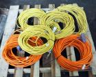 Extension Cord Assortment, Various Lengths And Gauges, Qty 6, Contents Of Pallet