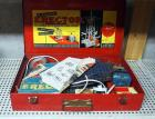Vintage Erector Set, Windmill Including Metal Carrying Case, Instruction Booklet, Hardware And More