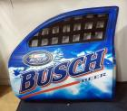 "NASCAR Busch Beer Molded Plastic Door Wall Decor, 39.5"" Wide x 33"" High"