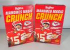 "Kansas City Chiefs Patrick Mahomes ""Mahomes Magic Crunch"" Sugar Frosted Flakes Breakfast Cereal From HyVee, Two 14 Oz Boxes"