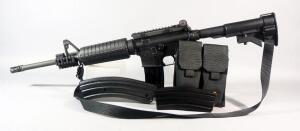 Colt AR-15 A3 .223 Cal Rifle SN# LBD 009618, Restricted Use Military, With Sling, 40 Rd And Two 30 Rd Mags, Mag Carrier