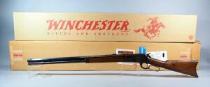 Winchester Model 1886 .45-70 Cal Lever Action Rifle SN# 29632, Octagonal Barrel, In Original Box