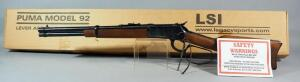 A Rossi SA Puma .45 Colt Lever Action Rifle SN# 45-879, With Saddle Ring And Paperwork, In Original Box
