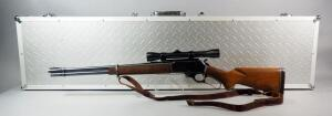 Marlin Model 336 30-30 Cal Lever Action Rifle SN# S17771, With Leather Sling And Scope, In Hard Case