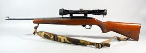Sturm/ Ruger Model 10/22 Carbine .22 LR Rifle SN# 120-81536, With Bushnell Sportview Scope And Leather/Nylon Sling