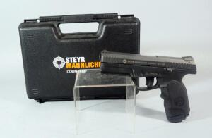 Steyr Mannlicher Model L9-A1 9x19mm Pistol SN# 3152607, In Hard Case