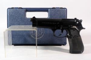Beretta Model 92FS 9mm Para Pistol SN# BER220456, In Hard Case