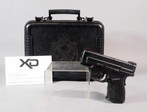 Springfield Armory XD-9 Sub-Compact Mod 2 9x19mm Pistol SN# GM830944, With Paperwork, In Original Hard Case