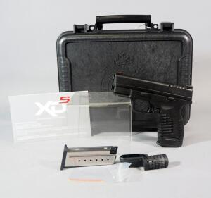 Springfield Armory SDX-9 3.3 9x19mm Pistol SN# S3663956, With 2 Mags, Grip Adapters And Paperwork, In Original Hard Case