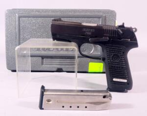 Ruger Model P95 9x19mm Pistol SN# 318-52642, 2 Total Mags, In Original Hard Case