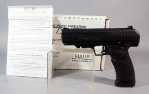 Hi Point / Iberia Model JCP .40 S&W Pistol SN# X7282427, With Paperwork, In Original Box