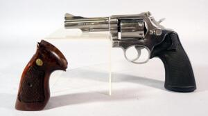 Smith & Wesson Model 67 .38 S&W Special 6-Shot Revolver SN# 3K68204, With Additional Wood Grips