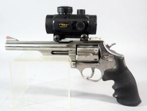 Taurus Model 66.357 Magnum 6-Shot Revolver SN# 5202365, With BSA Red Dot Sight
