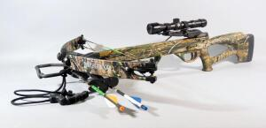 "Horton Archery ""The Brotherhood"" Crossbow With Horton Archery 4x32 Scope, 2 Bolts And Quiver"