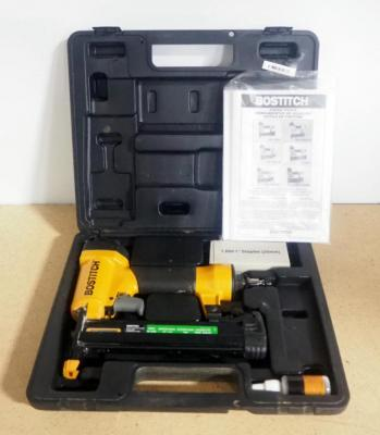 Bostitch Brad Nailer Model SB-150SX, With Manual, Staple And Lubricant, In Hard Case