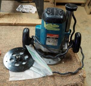 Makita Electric Router, Model 3612