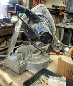 "Hitachi Electric Miter Saw With 10"" Blade"