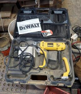 DeWalt Electric Cut Out Tool, Model DW660, With Instruction Manual And Carrying Case, Has Additional RotoZip Bits