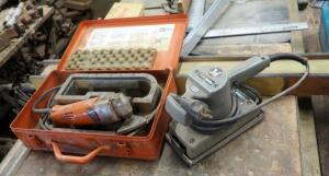 Feinschleifer Electric Fein Sander In Metal Carrying Case; And Porter Cable Heavy Duty Sander, Model 505