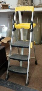 Cosco Aluminum 3 Step Painters Ladder