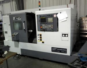 2010 Samsung CNC Dual Spindle Lathe Mill, Model SL25ASY, Serial Number 10B2K0007