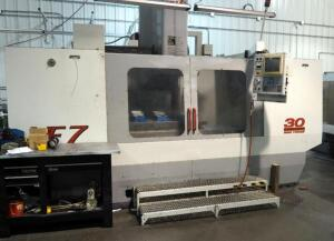 2000 Haas CNC Machining Center, Model VF-7/50, CAT 50 Taper, Serial Number 19991